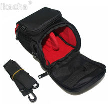 Black Camera Bag Case for Canon Powershot G15 G12 G1 G1X SX20 SX160 SX130 SX120 SX500