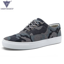 2017 New Men Casual Shoes Man Flats Breathable Mens Fashion Classic Camouflag Shoes Mens Canvas Shoes for Men Zapatos De Hombre(China)
