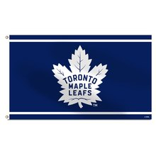 Toronto Maple Leafs National Ice Hockey Team Flag Custom Banners Flags With Sleeve Gromets 90*150CM(China)