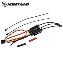 Hobbywing Platinum 25A V4 40A V4 Brushless ESC for RC Models Helicopter Spare Parts Accessories Accs(China)