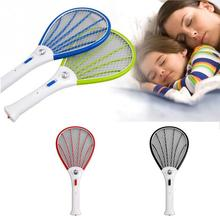 AC110-220V Rechargeable Electric Mosquito Swatter Insect Bug Bat Fly Zapper Swatter mosquito killer(China)