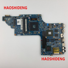 Free Shipping 682174-501 for HP Pavilion DV6 DV6T DV6-7000 series motherboard with GT650M/2G.All functions 100% fully Tested !(China)