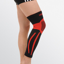 1 pcs super elastic basketball knee pad support brace football leg calf thigh sleeve Bright color knee guard sports protector