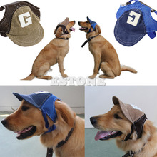New Coming Canvas Summer Small Pet Dog Cat Baseball Visor Hat Puppy Cap Outdoor Sunbonnet 1 Pcs Shipping(China)