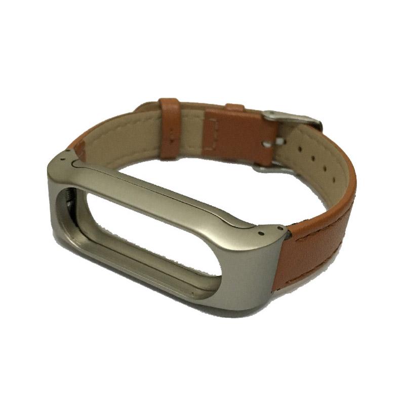 For Xiaomi Mi Band 2 Leather Strap Wrist Band For Mi band 2 Screwless Bracelet for Miband 2 For mi 2 wristband Smart Accessory 11