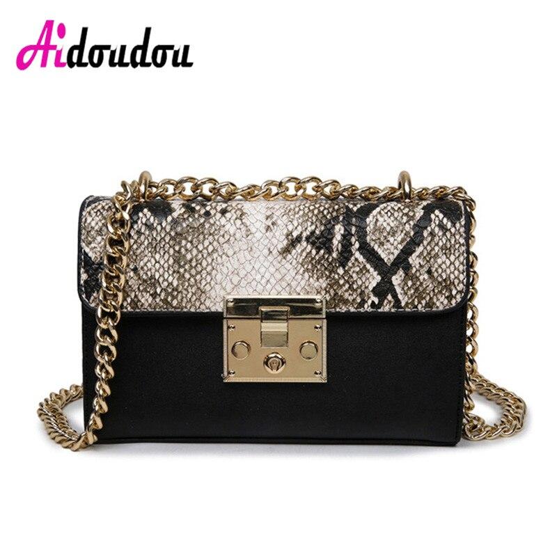 Serpentine Women Messenger Bag Female Chain Brand Designer Handbags Small Famous Luxury Design Snake Red Mini Crossbody Bags<br>