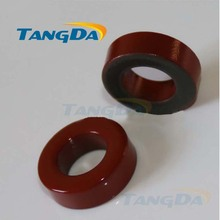 Tangda Iron powder cores T94-2 OD*ID*HT 24*14*8 mm 8.4nH/N2 10uo Iron dust core Ferrite Toroid Core Coating Red gray