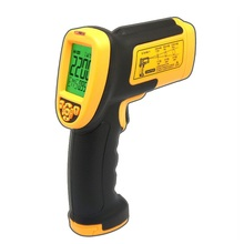 Smart Sensor AS892 Digital IR Non-contact Laser Infrared Thermometer Temperature Gauge with Temperature Meter Gun 200~2200C(China)
