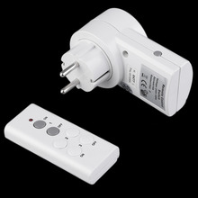 New BH9938-1 DC 12V Wireless Remote Control Swith Home House Power Outlet Light Switch Socket Remote EU Connector Plug