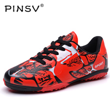 PINSV Football Boots Mens 2017 Superfly Original Kids Sneakers Boy And Girls Football Soccer Broken Training Football futbol(China)