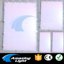 Cuttable Electroluminescent EL PANEL backlight sheet A3+A4+A5 size with DC12V inverter(China)