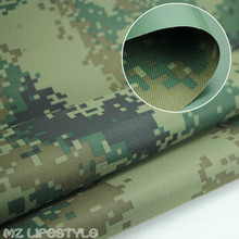 Buulqo 100*150cm Thickened Oxford camouflage waterproof fabric Printed Polyester outdoor waterproof fabric by meter(China)