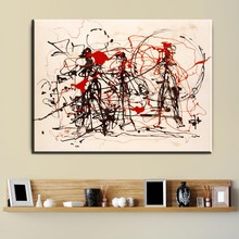xdr312 Jackson Pollock Number 48 Canvas print art copy painting -wholesale home wall abstract art oil painting -free shipping