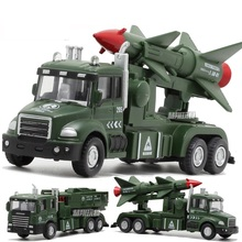Military Vehicle Model Straight Strip With Light/Sound Pull Back Educational Toy(China)
