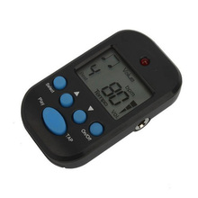 M50 Black Digital LCD Beat Tempo Metronome Clip + Battery(China)