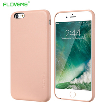 FLOVEME Luxury Cases For iPhone 6 6s PU Leather Mobile Phone Bag Hard Slim Cover For iPhone 6 6s Plus Full Protector Accessories(China)