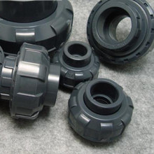 20mm High Quality Plastic PVC Union Connector Irrigation Water Pipe Fittings Union Joint Smooth Socket Connecting