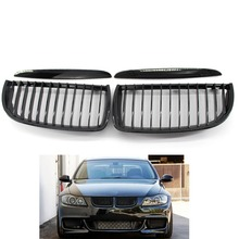 Gloss Black Color  Front Grille Bumper Hood Grill Grilles For BMW E90 05-08