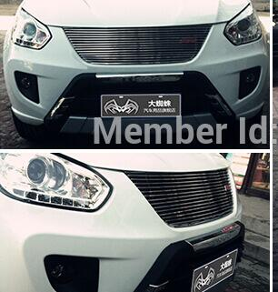 Quality Stainless steel Car front bumper Mesh Grille Around Trim Racing Grills 2009-2013 for Chery Tiggo<br><br>Aliexpress