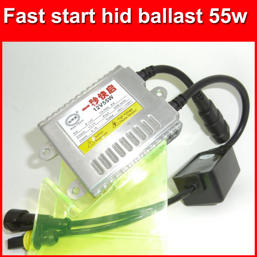 2017 new car headlight 12v 45w AC hid ballast fast start xenon ballast 55w quickly start in 1 seconds free shipping<br><br>Aliexpress