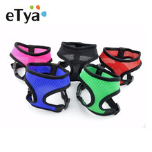 Adjustable Soft Breathable Dog Harness Nylon Mesh Vest Harness for Dog Puppy Collar Cat Pet Dogs Chest Strap Leash