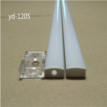 2-30 set/lot 0.5m 12mm strip led aluminium profile for led bar light, led  aluminum channel,  flat aluminum housing
