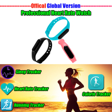 IP67 Waterproof Smart Fitness Bracelet With OLED Touchpad Running Heart Rate Monitor Smart Wristband Multi Language Support