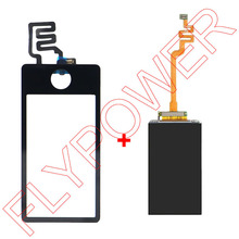 For ipod Nano 7 7th Gen lcd screen display with touch screen digitizer Sensor Panel by free shipping; Black; 100% Warranty(China)
