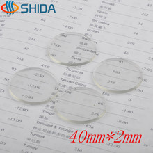 Hot Sale 50 Pcs/lot 40mm*2mm High Clear Anti Slip Self-Adhesive Flat PVC Rubber Bumpers Feet Pads Shock Absorber For Glass Table(China)