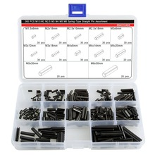 330Pcs Steel Split Spring Dowel Tension Roll Pin Metal Hardware Assortment Kit