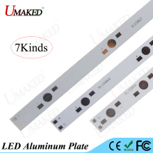 High power 1W3W5W LED aluminum plate 800 1000 1200MM leds install LED PCB Board 8 15 18 22 30 35 LEDs Aquarium tube Grow light(China)