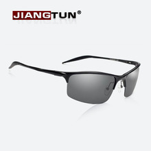 JIANGTUN Aluminum Magnesium Alloy Polarized Sunglasses Men Vintage Male Sun glasses Accessories Driving Google Eyewear(China)