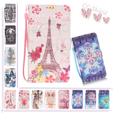 3D Painting Magnetic Flip Case for Apple iPhone 6S 6 s Fashion Luxury Case Phone Leather Cover for Apple i Phone6S iPhone6S Bag