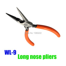 New High-quality vise mini needle nose pliers, multi-function pliers, extra-fine needle Long nose pliers   WL-9