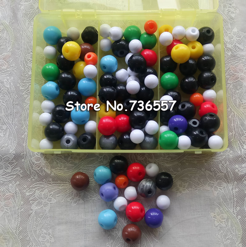 267 Pcs Atom Molecular Models Kit Set General &amp; Organic Chemistry Scientific Children Learning Educational Toy Set<br>