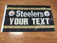 NFL 3x5ft Pittsburgh Steelers flag American flag decoration free shipping activities(China)