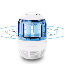 Electronic Home Ultra Silent Inhalant Mosquito killer lamp Led Insect Bug Zapper Fly Pest Control Light Killing Lamp
