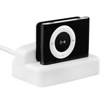 2pcs USB Charger & Sync Replacement Docking Station Cradle for Apple for iPod for Shuffle 2 2ND 3 3RD GEN 2G