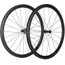 Carbon Road Wheel 38mm Carbon Wheels Clincher 25mm Width Chosen 1586-7187 Hub Spaim Spokes Road Bike Carbon Wheelset