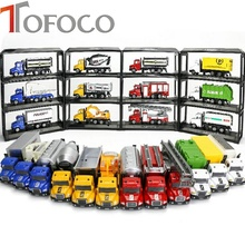 Buy TOFOCO 1:64 Alloy Engineering Toy Car Mining Car Truck toys children Diecasts Toy Vehicles Children's Birthday Present for $3.49 in AliExpress store
