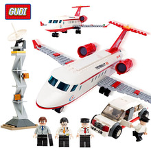 334 pcs Plane Toy Air Bus Model Airplane Building Blocks Sets Model DIY Bricks Classic Toys Compatible With Legoe