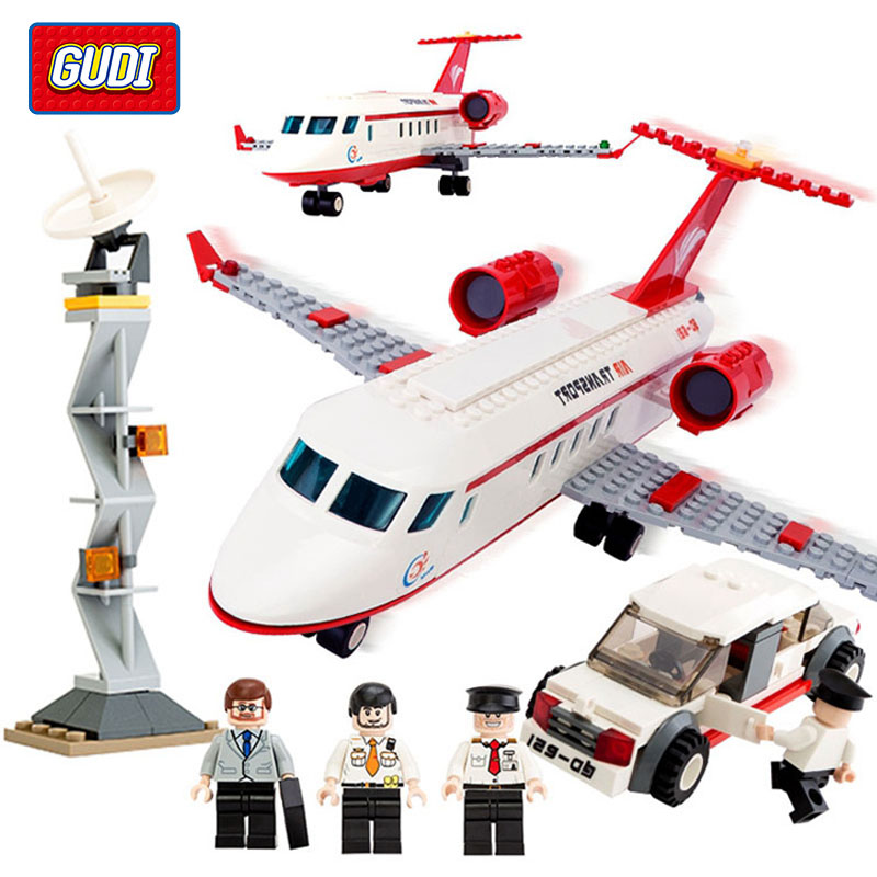 334 pcs Plane Toy Air Bus Model Airplane Building Blocks Sets Model DIY Bricks Classic Toys Compatible With Legoe<br><br>Aliexpress