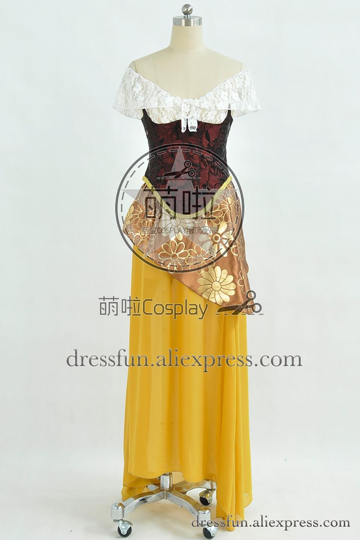 The Phantom of the Opera Christine Daae Dress Halloween Cosplay costume