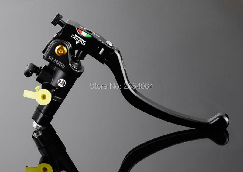 Universal Motorcycle parts Brake Pump 19RCS Technology of CNC Multicolor Hydraulic Clutch Brake For Kawasaki Yamaha ducati <br>