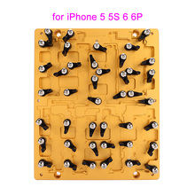 Repairing iPhone Chip IC CNC Router Parts 8 in 1 Mould Jigs for Repair iPhone5 5S 6 6P(China)