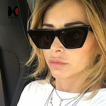 SHAUNA Reinforcing Metal Hinge Classic Women Cateye Sunglasses Fashion Nail Decoration Ladies Tinted Lens Eyeglasses