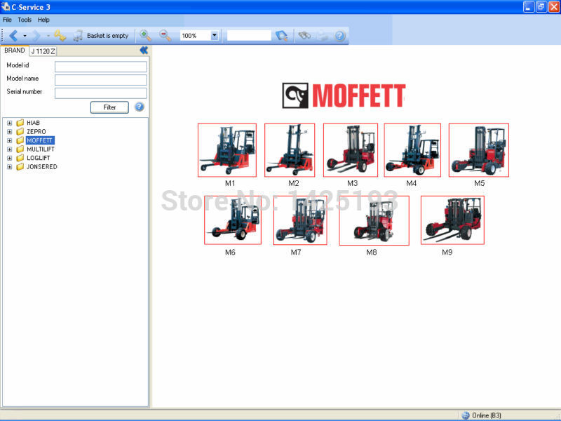 Hiab C-Service Parts catalogs and service information system<br><br>Aliexpress