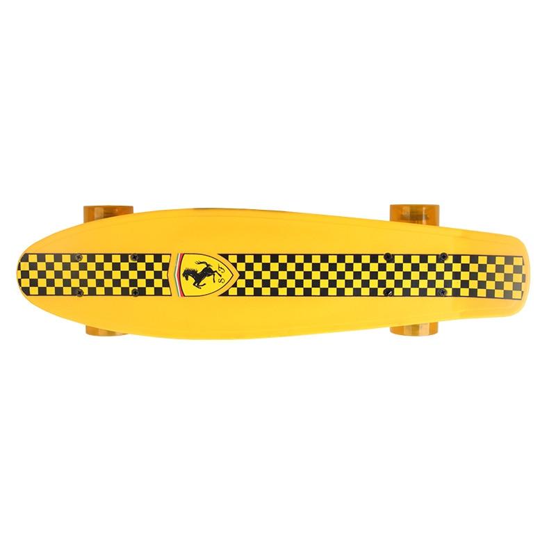 ABEC - 5 Child Four-Wheel Double Cruiser Skateboard flip skate board for kids boy Max loading 50kg (3)