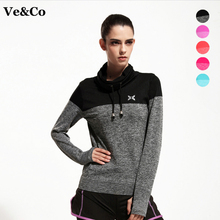 Women Gym Fitness Yoga Shirts 2017 Spring New Arrival Compression Shirts Long Sleeve Women's Sport Tees Tops Camiseta Yoga Coat
