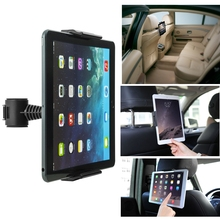 360 Rotatable Tablet Holder vehicle headrest Smartphone Car Seat back Mount Stand For Ipad 2 3 4 Mini For Ipad Air Air2 Newest